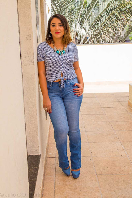 Look casual com calça jeans