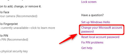 Cara Mengubah Password Komputer Windows 10