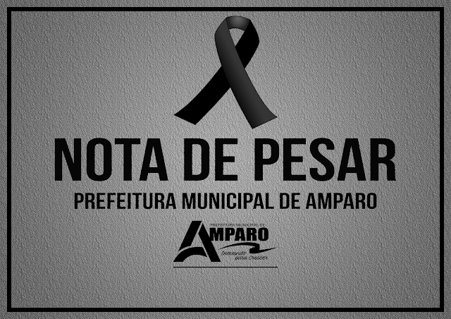 Prefeitura de Amparo emite Nota de Pesar pelo Falecimento do Senhor Valdecir Machado