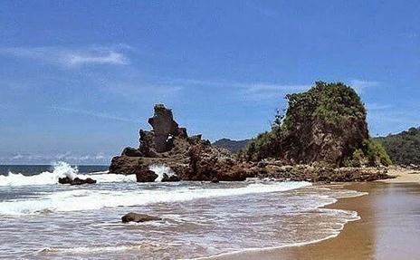 Tempat wisata pantai parang kursi di banyuwangi