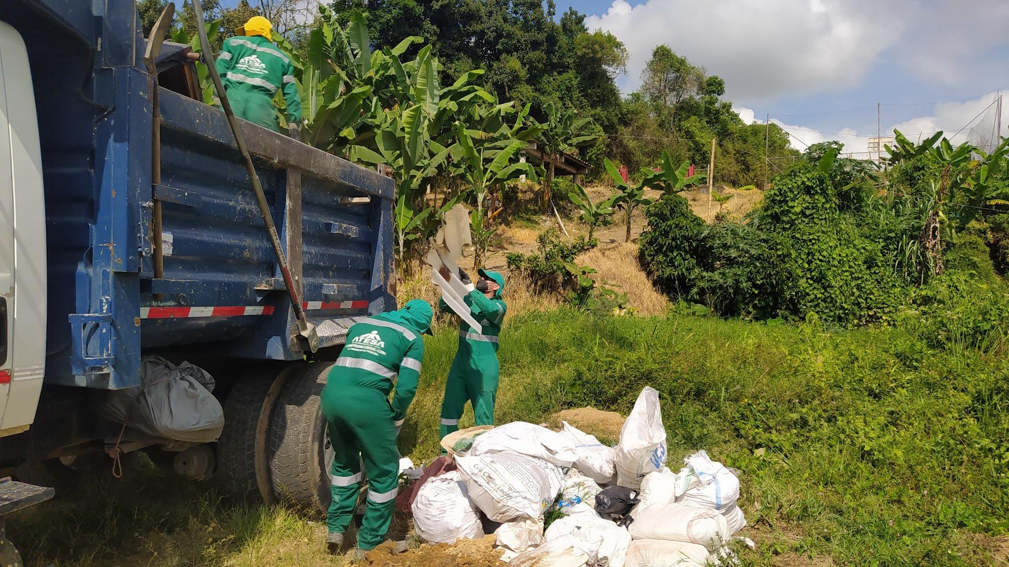 Recolección de inservibles llevó su servicio a los barrios Naranjito y Miraflores