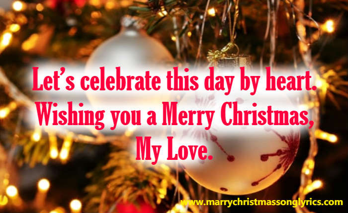 Merry Christmas to Boyfriend Quotes
