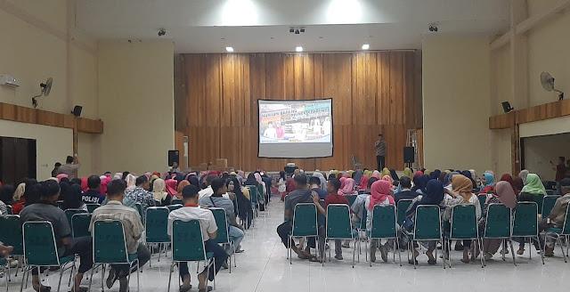 Peringatan Hari Ibu, Polres Soppeng Putar Film Dokumenter 'Surga Kecil di Bondowoso'