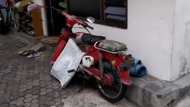 Honda pispot bebek supercub C50