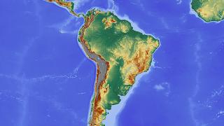 Mapa - Formas de relevo
