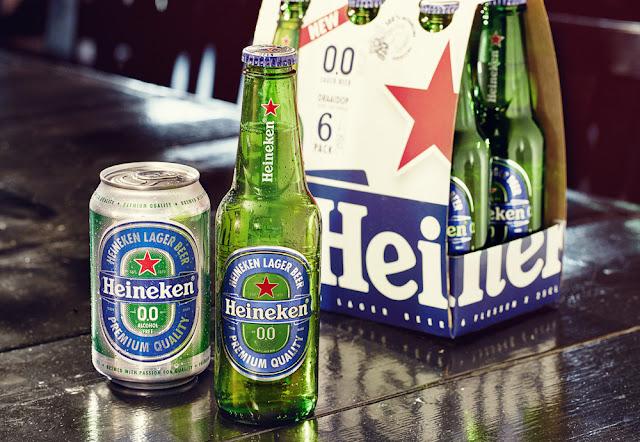 Heineken presenta su primera cerveza sin alcohol
