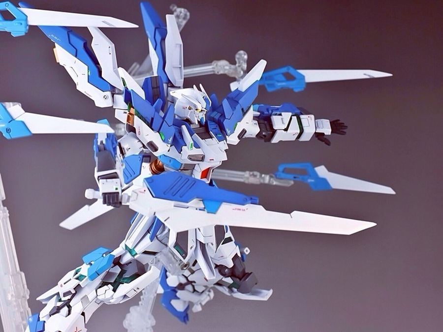 Custom Build: 1/144 Hi-Unicorn vRabe