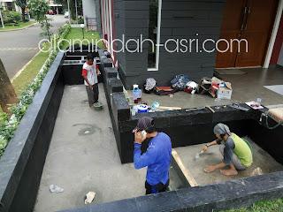 TUKANG KOLAM KOI JAKARTA, TUKANG KOLAM MINIMALIS JAKARTA, TUKANG KOLAM RELIEF
