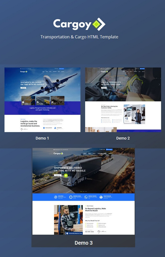 Transportation & Cargo Template