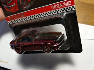 hot wheels club red rlc datsun 240z