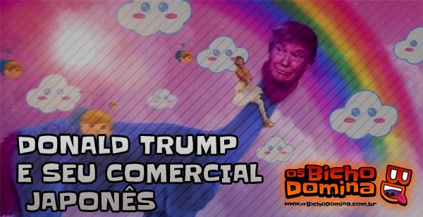 Donald Trump comercial Japonês