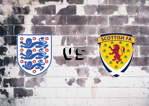 Inglaterra vs Escocia  Resumen y Partido Completo