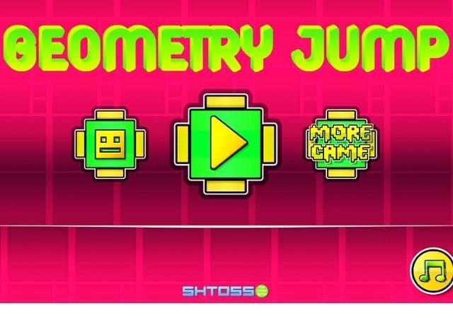 Free Play Geometry Jump Game online