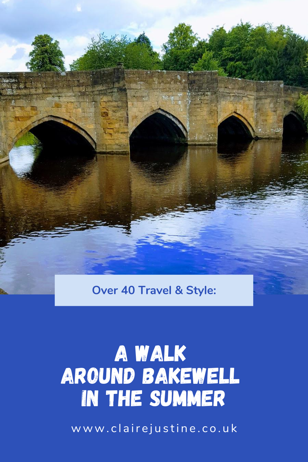 A Walk Around Bakewell In The Summer