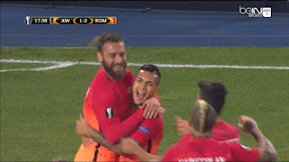 Europa League Austria Vienna Roma 2-4 highlights video