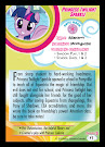 MLP Twilight Sparkle Series 5 Trading Card