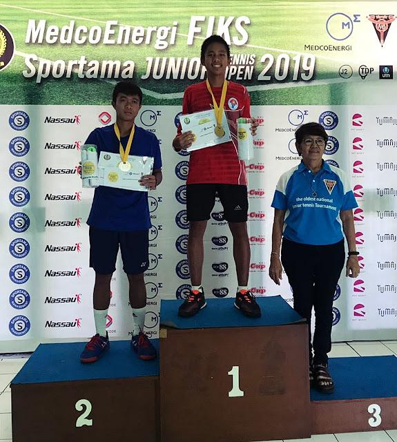 Kejurnas FIKS Junior Tennis Open 2019: Inilah Juaranya