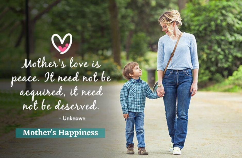 Mother and Son Quotes HD Image