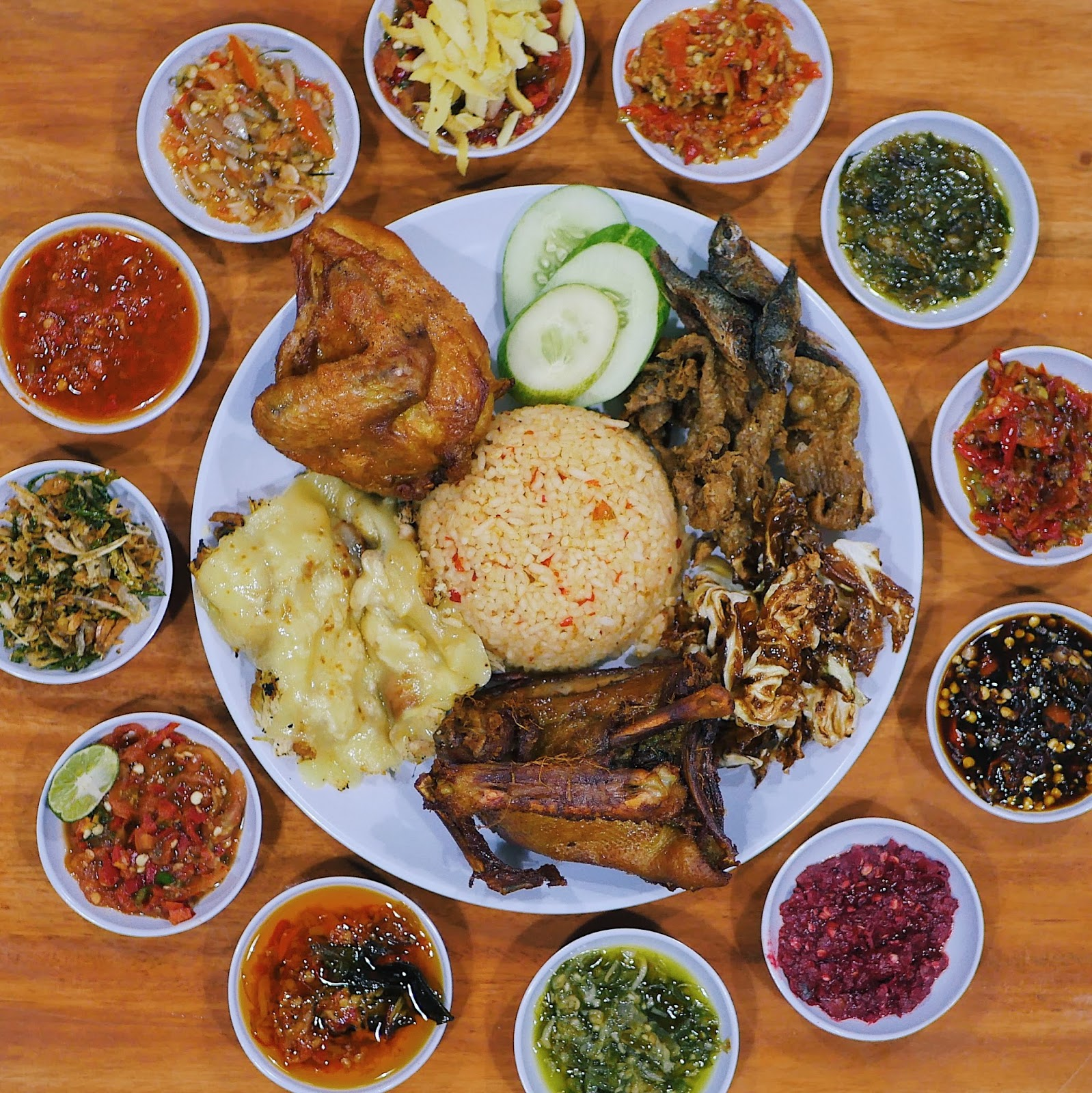 how to say food in indonesian