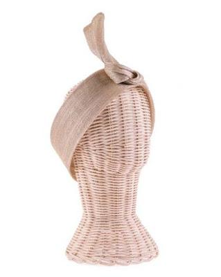 turbante de seda