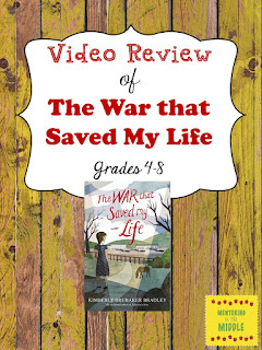 video, War that Saved My Life, book review