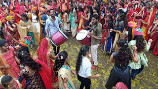 देव झुलनी ग्यारस का क्षत्रिय राठौड़ समाज द्वारा प्रति वर्ष अनुसार इस वर्ष भव्य शोभायात्रा निकाली गई