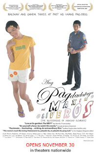 A 2005 Filipino coming-of-age film about a gay teen who is torn between his love for a young cop and his loyalty to his family.