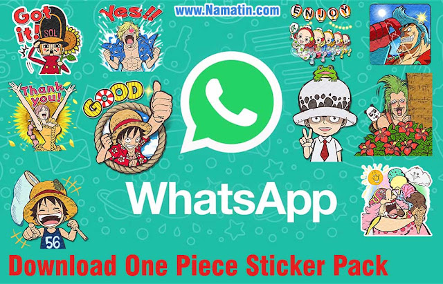 Stiker Whatsapp One Piece