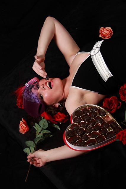cioccolato e donna