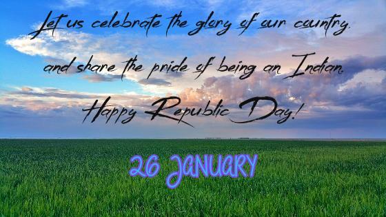 26 Jan Republic Day of India