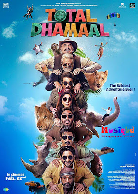 Total Dhamaal (2019) Bollywood Movie Mp3 Songs Album Download