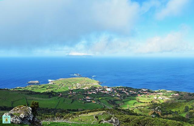 Miradouro da Ponta Delgada, isla de Flores (Azores)