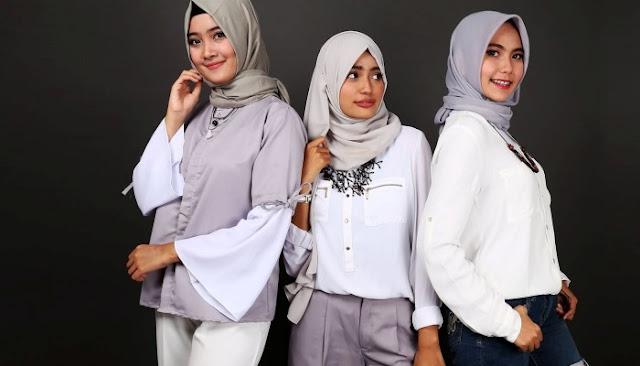 Tips cara memakai jilbab sesuai bentuk wajah bikin cantikmu optimal