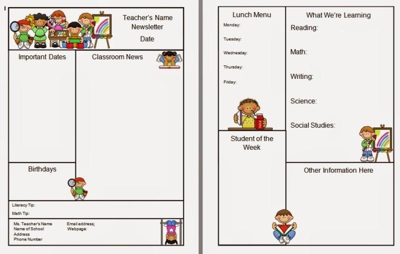 weekly preschool newsletter template koni polycode co