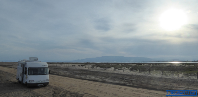 Pernocta a la platja