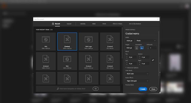 Cara Membuat Gradient Text di Adobe Illustrator 2019