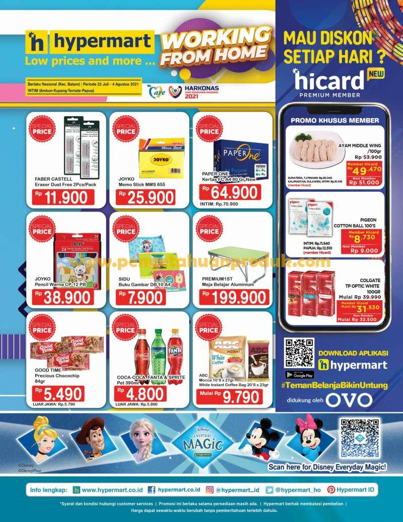 Katalog Promo Hypermart Terbaru 22 Juli - 4 Agustus 2021