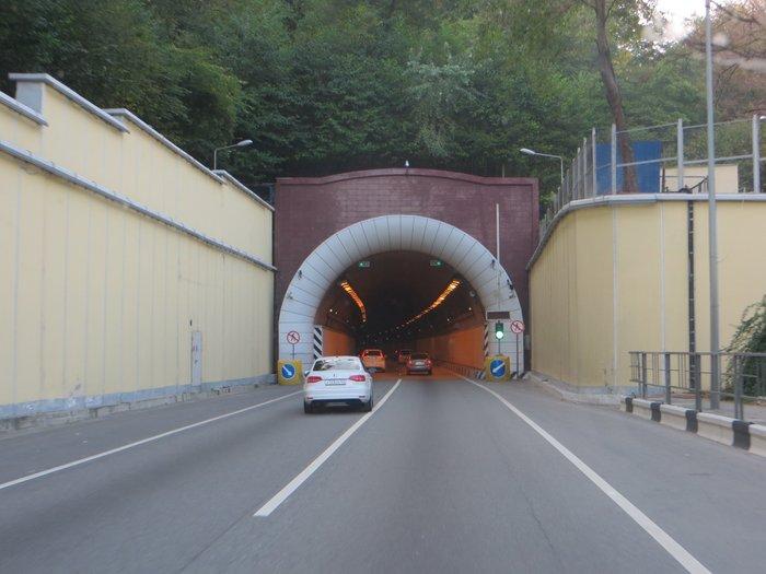 Автомобильный туннель в Сочи