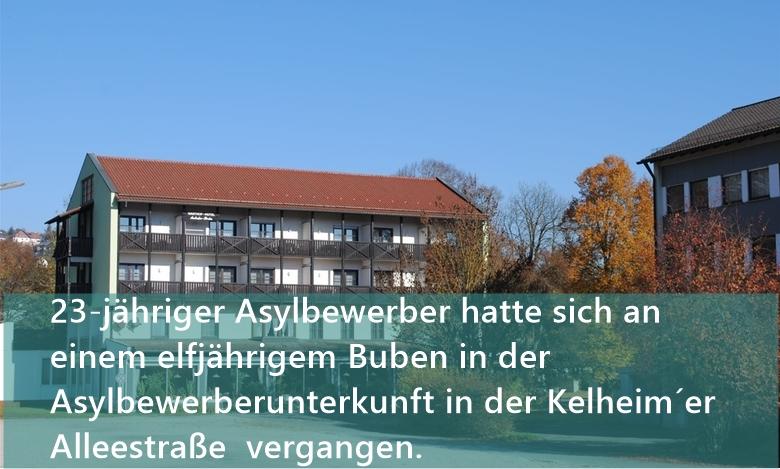 Asylbewerber missbraucht Buben in Kelheim
