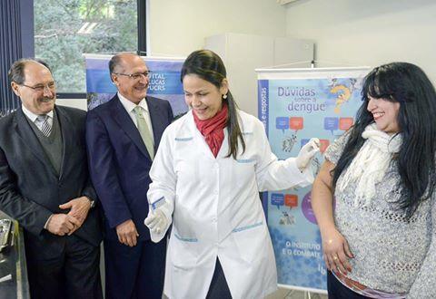 Instituto Butantan inicia testes da vacina contra a dengue em Porto Alegre
