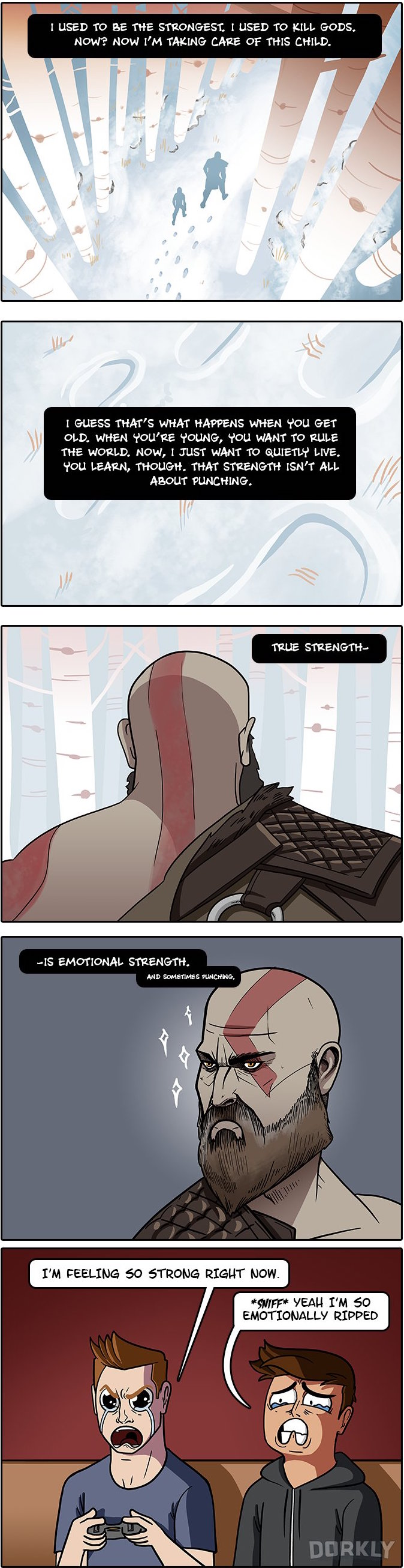 The Biggest Change in the Newest God of War Game