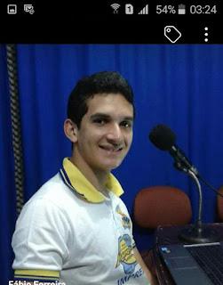 Nas redes sociais radialista Fabio Ferreira fala de seu afastamento da Rádio Marmaraú FM.