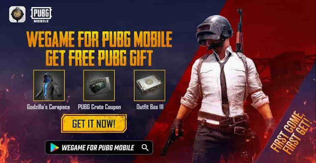 pubgm wegame free rewards