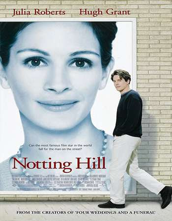 Poster Of Free Download Notting Hill 1999 300MB Full Movie Hindi Dubbed 720P Bluray HD HEVC Small Size Pc Movie Only At worldfree4u.com