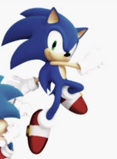 Photo of Super sonic character