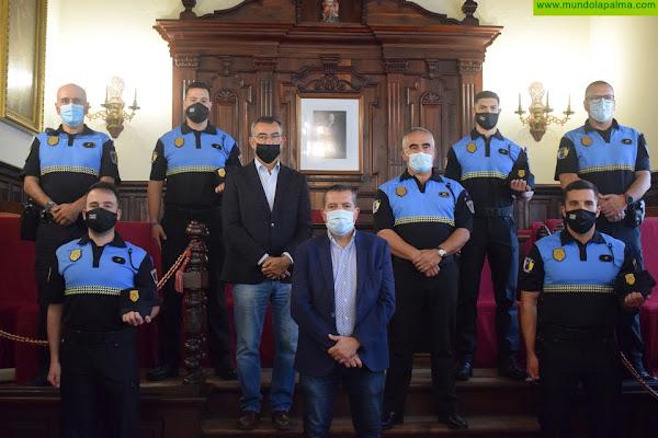 Santa Cruz de La Palma refuerza la Policía Local con la incorporación de cuatro agentes