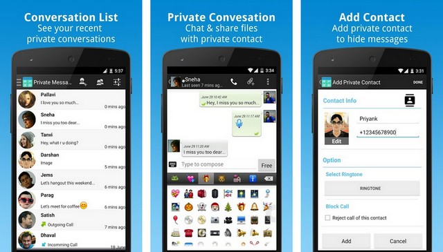 أفضل تطبيق إخفاء الرسائل النصية على الاندرويد