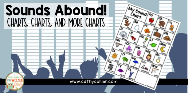 If I had to choose one thing that was the most valuable teaching tool in my classroom, I would have to say it's my sound chart. Give them tools, not excuses!