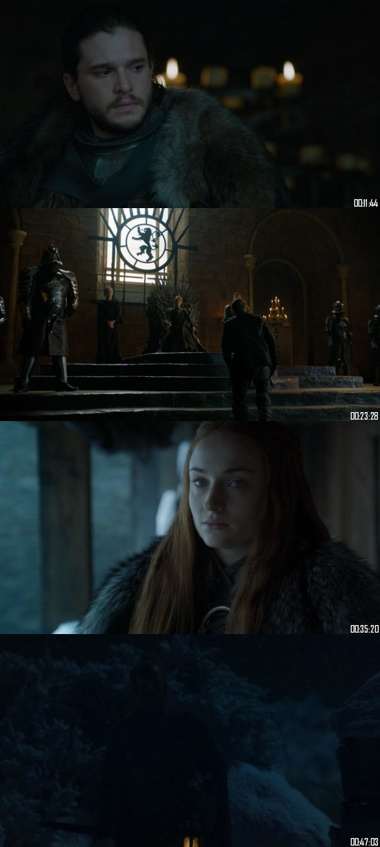 Game of Thrones S07 Hindi Complete 720p WEBRip