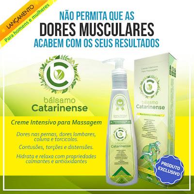 Bálsamo Catarinense Uma combinação ultranutritiva que produz sensação de alívio